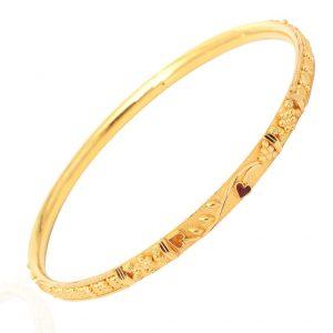 5bc31f34a92 Gold bangles in 20 grams   Dhanalakshmi Jewellers