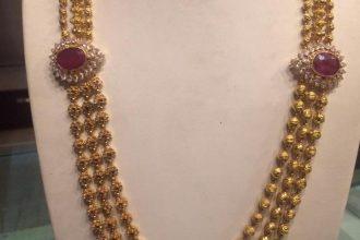 Long Chain Necklace Hara Designs Dhanalakshmi Jewellers