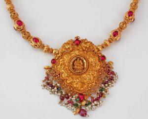 Temple jewellery | Dhanalakshmi Jewellers