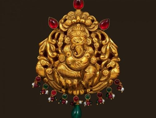 Temple jewellery dhanalakshmi jewellers antique temple jewellery pendants aloadofball Choice Image