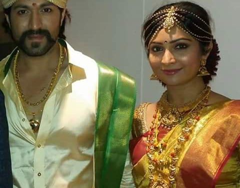 Yash Radhika Pandit Wedding Jewellery | Dhanalakshmi Jewellers