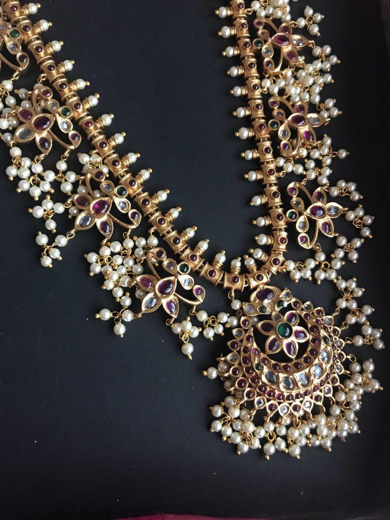 Guttapusalu Long Necklace