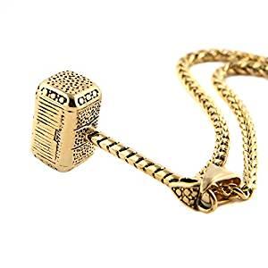 h Gold Pendants for Men