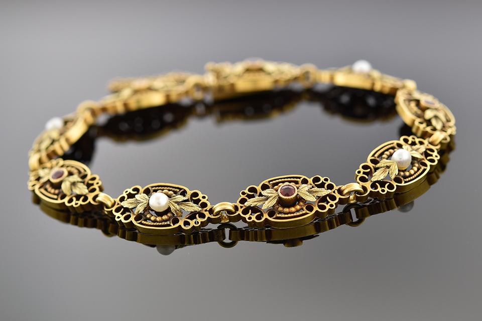 Antique Gold Bracelets