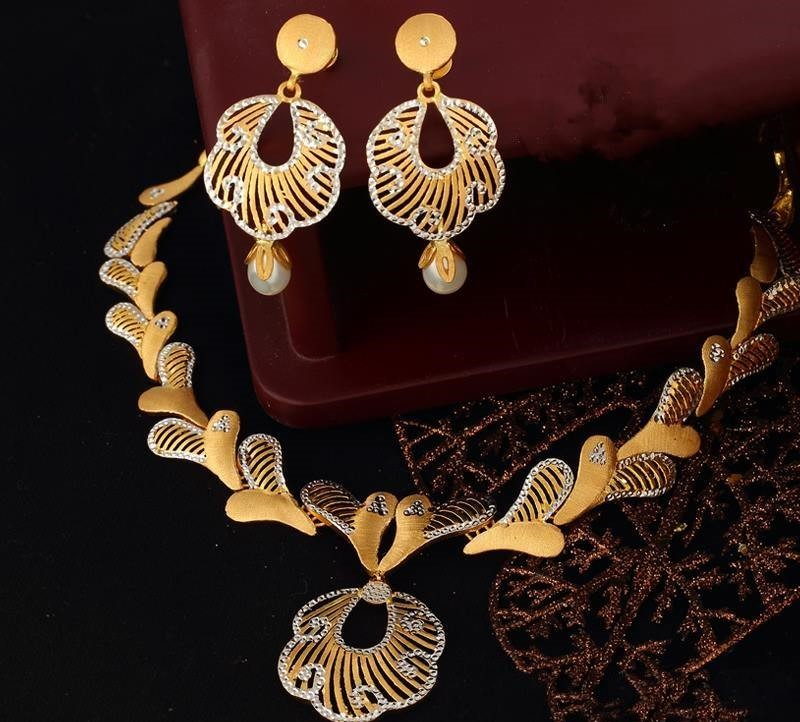Gold Necklace Set New Designs