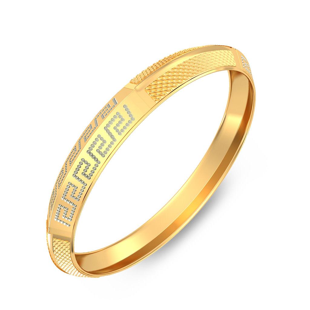 Gold kada for men