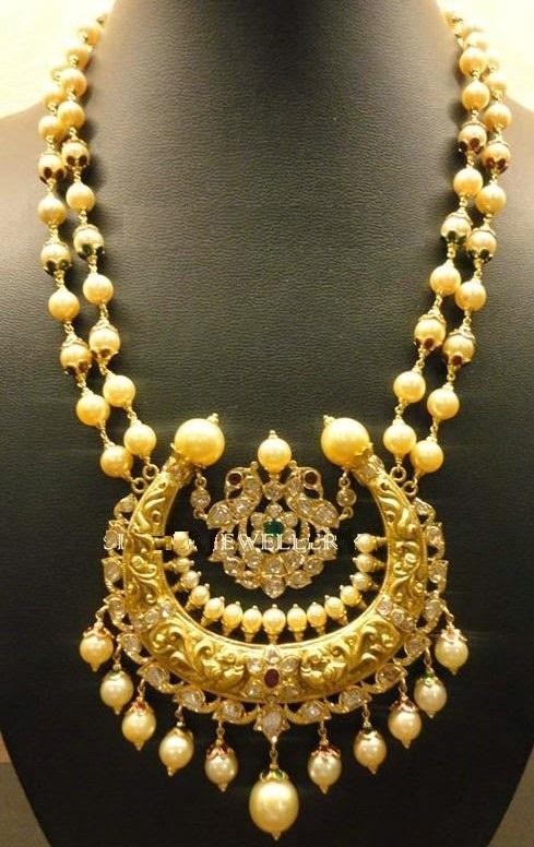 Antique Pearl Necklace Designs