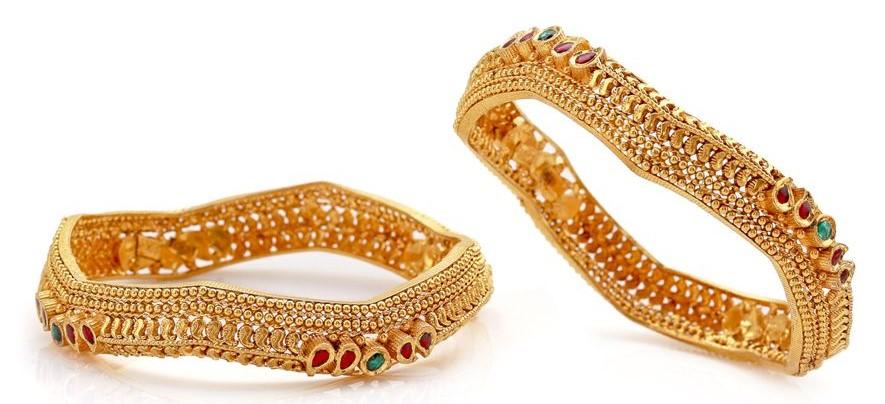 New Gold Bangle Designs