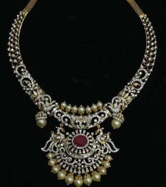 Antique Kaante Necklace