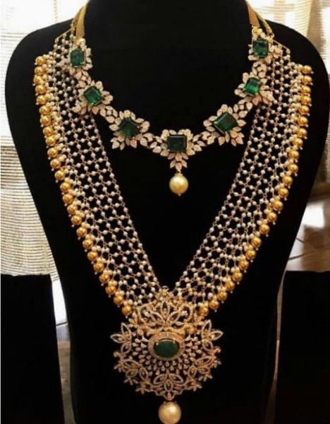 Mesh Chain Gold Necklace