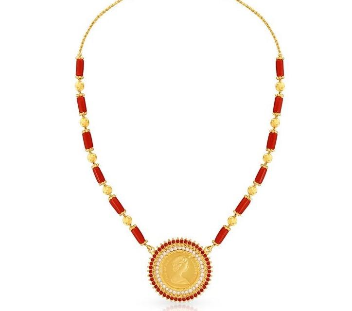 mangalore coral necklace