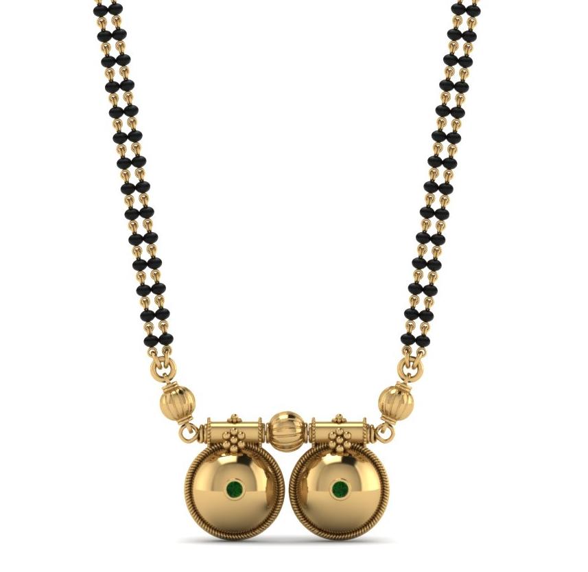 Telugu Mangalsutra | Mangalsutra Designs | Dhanalakshmi Jewellers