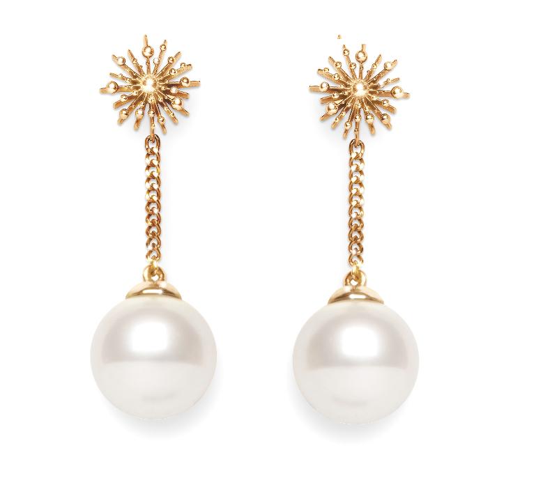Pearl Earrings   Dhanalakshmi Jewellers
