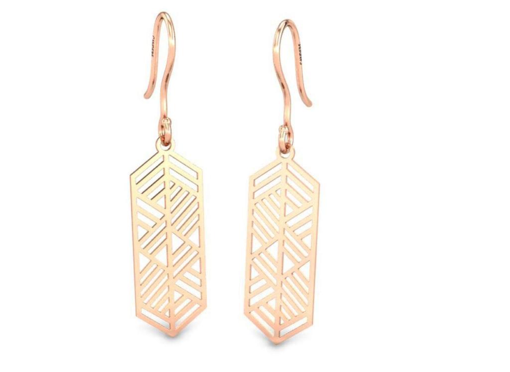 Gold Earrings Drops