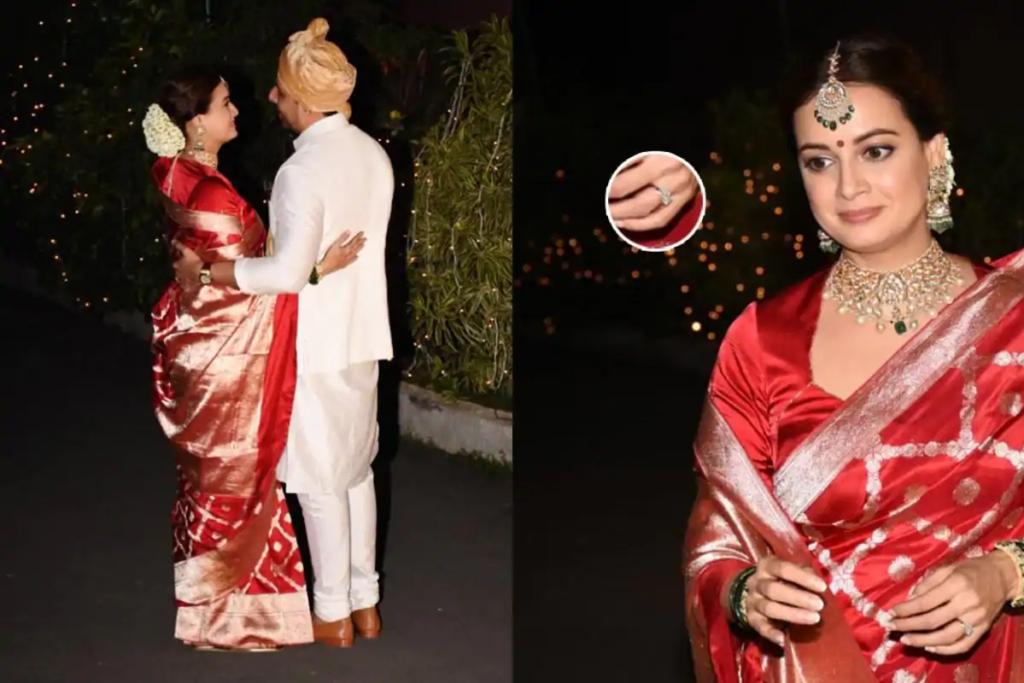 Dia Mirza's Wedding Jewelry