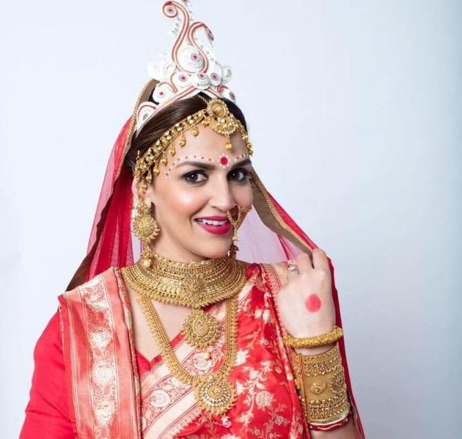 Traditional Bengali Bridal Jewelry/ Bengali Bride