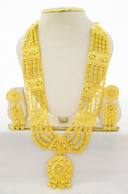 Traditional Gold Chandan Haar