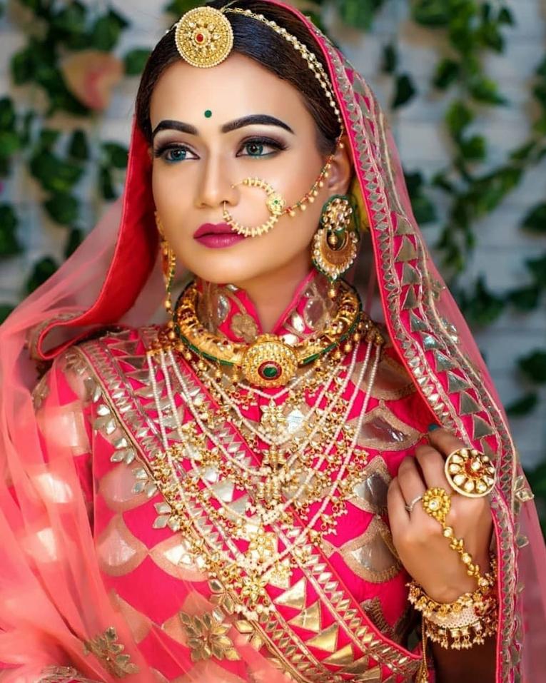 Rajasthani Gold Borla